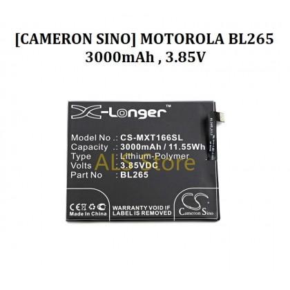 [ORIGINAL] Battery MOTOROLA MOTO M XT1662 XT1663 / LENOVO M KUNG-FU - BL265 - 3000mAh [CAMERON SINO X-LONGER BATTERY SERIES]