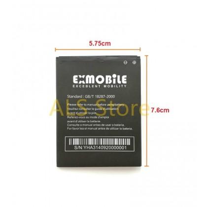 [ORIGINAL] Battery EXMOBILE CHAT 2 PLUS / CHAT 2+ - EX CHAT 2+ - 2300mAh