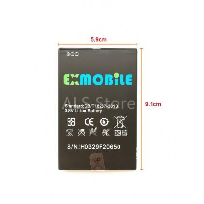 [Original] Battery Exmobile Chat 3 Plus / Chat 3 - 2800mAh