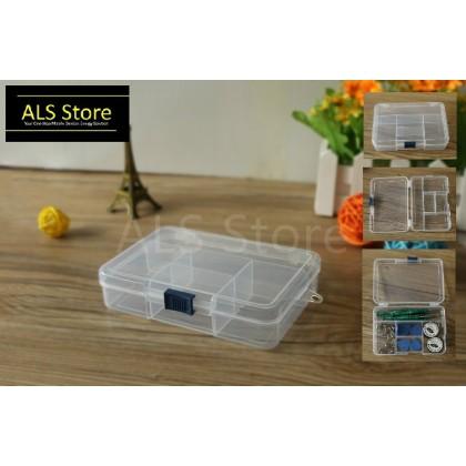 [Bestool] 5 Slots Quality PP Plastic Compartment Storage Box - BEST-R611