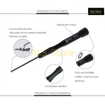 [BST-8800C] 2 In 1 Cr-V Steel Torx T8H Torx T10H Screwdriver Tools